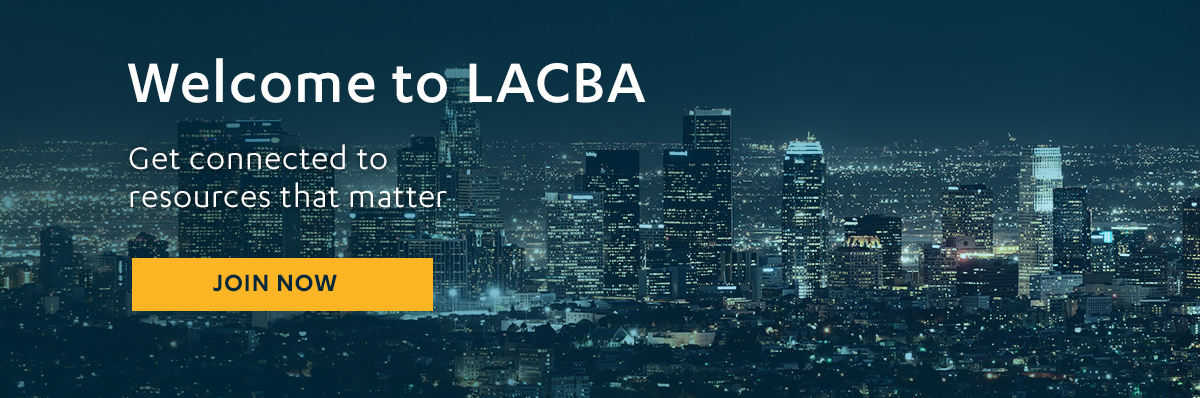 Welcome to LACBA Home Page Banner