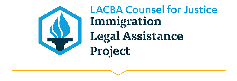 LACBA Immigration Legal Assistance Project Banner
