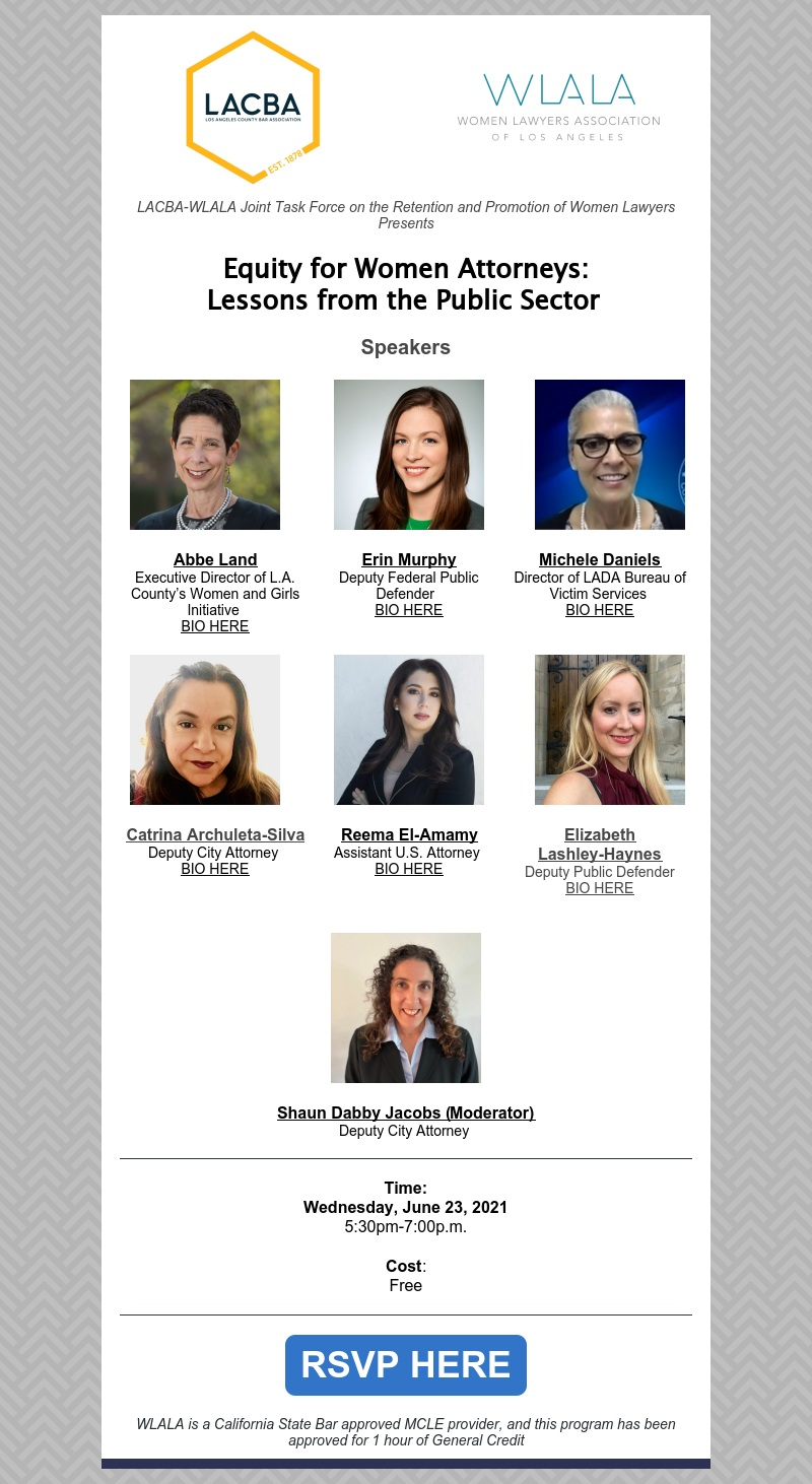 June 23 2021 - Equity for Women Attorneys Lessons from the Public Sector t1
