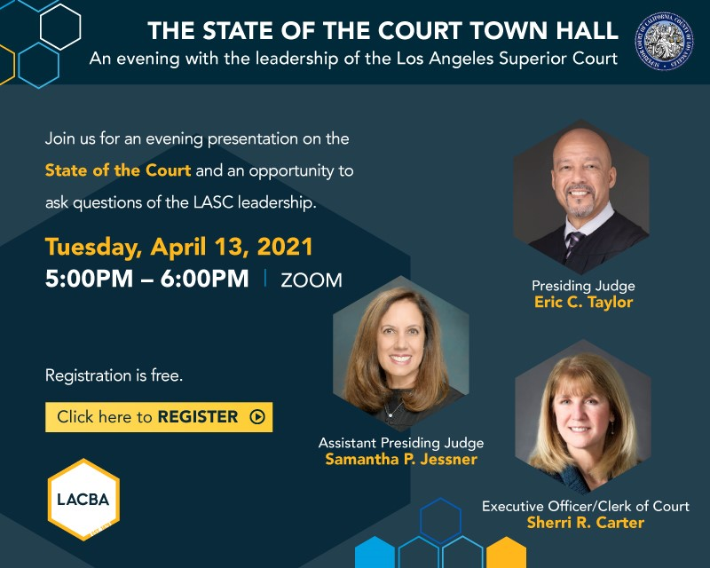 State of the Courts - April 13, 2021