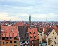 Nuremberg from the Castle
