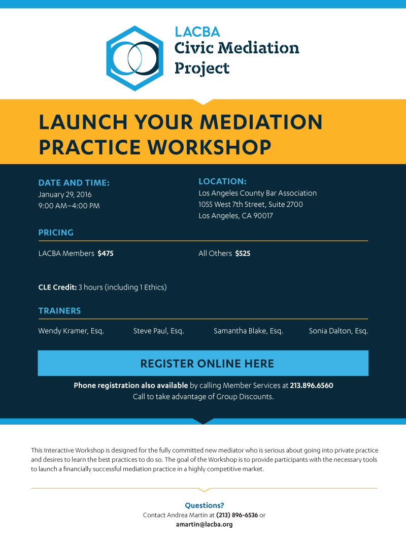 Launch Mediation Practice