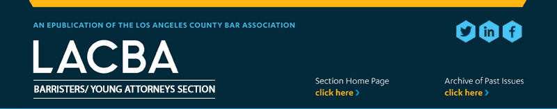 Click for Barristers/Young Attorneys Section Newsletter Online Version