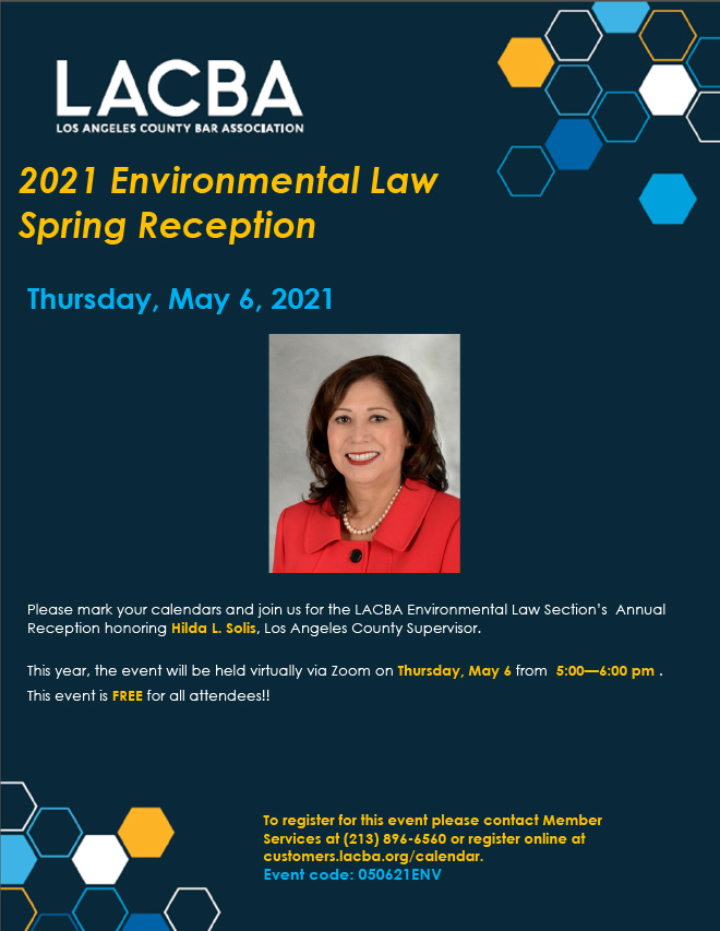 UPDATED - Environmental Law Spring Membership Flyer - May 2021_660w
