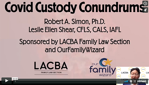 LACBA Family Law Section April 2020 Webinar