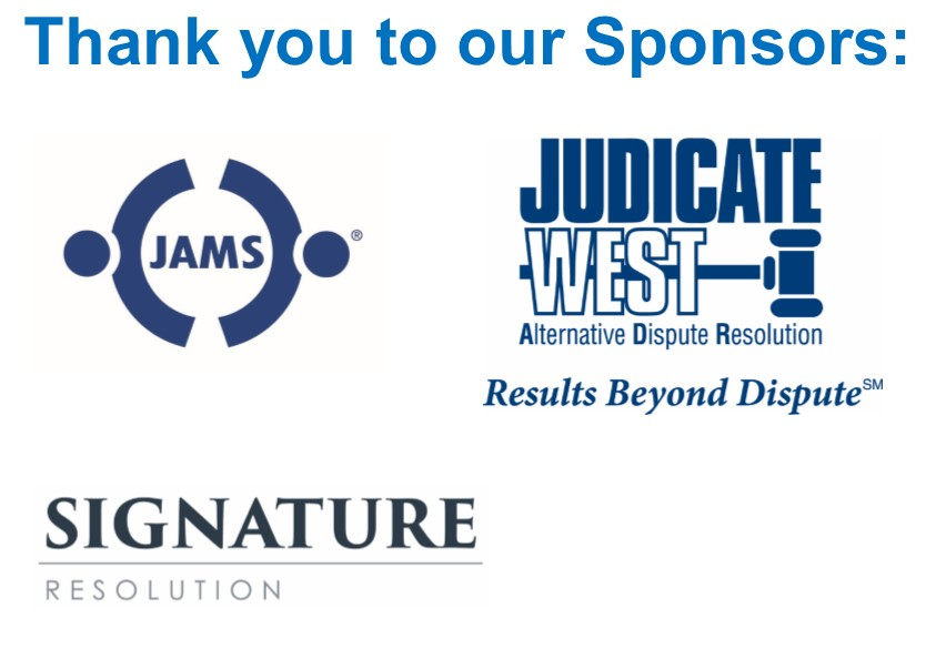 2019 Federal Courts Sponsors