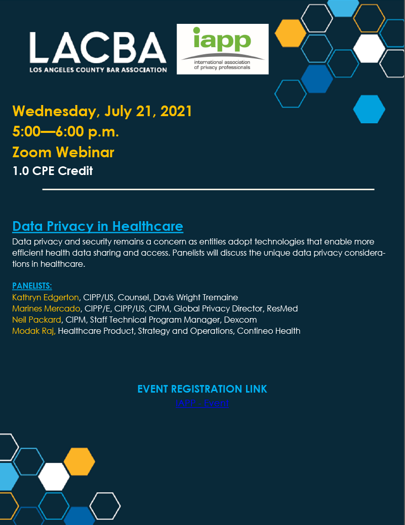 Privacy and Cybersecurity 07-21-21 event