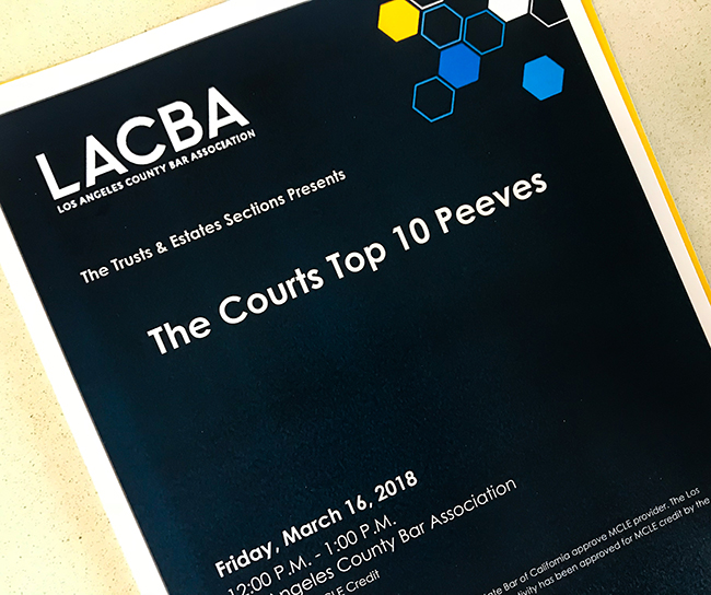 CLE Program-Materials-The-Courts-Top-10-Peeves
