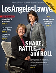 Los Angeles Lawyer April cover