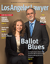 LA Lawyer magazine February 2017