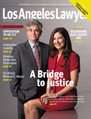 L A Lawyer June Issue