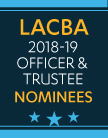 LACBA Election Nominees
