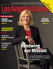 LA Lawyer July-August 2016 Issue Cover