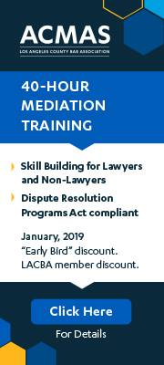40 hour Mediation Training