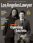 February cover of Los Angeles Lawyer