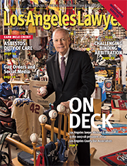 Los Angeles Lawyer magazine cover July 2017
