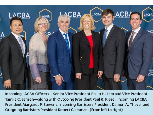 Incoming LACBA Officers