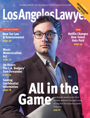 LA Lawyer May 2019
