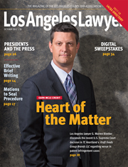 Los Angeles Lawyer October 2017 Cover