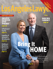 Los Angeles Lawyer magazine