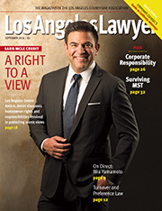 L A Lawyer Cover