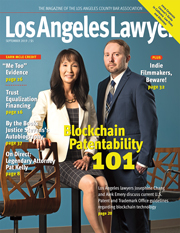 Los Angeles Lawyer cover September 2019